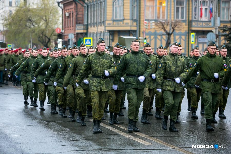 Количество призывников изКрасноярского края уменьшилось вдвое