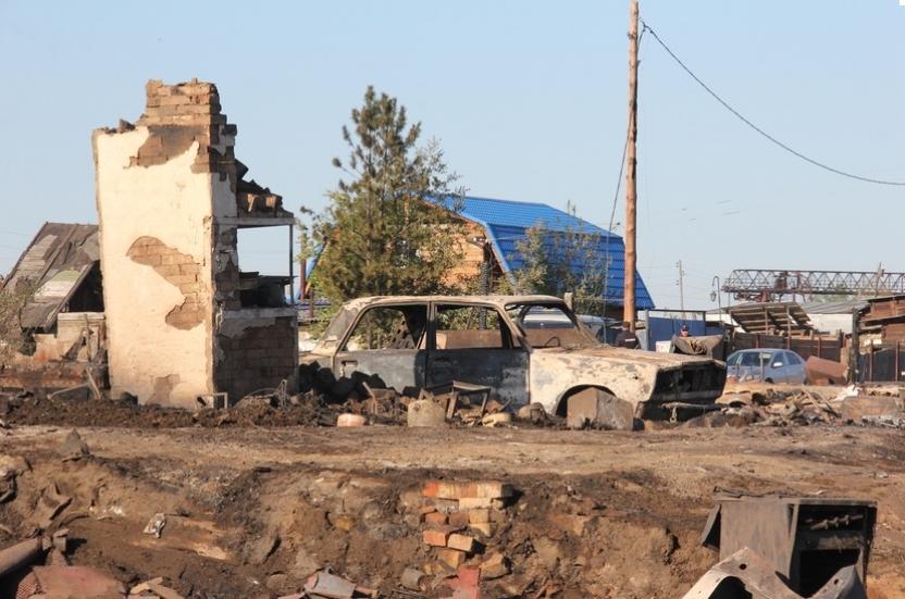 Новые дома пострадавшим пообещали уже к середине сентября