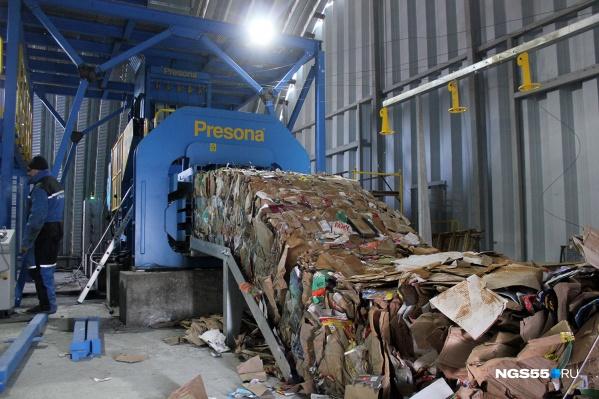 Сейчас омичи платят за вывоз мусора81–88 рублей