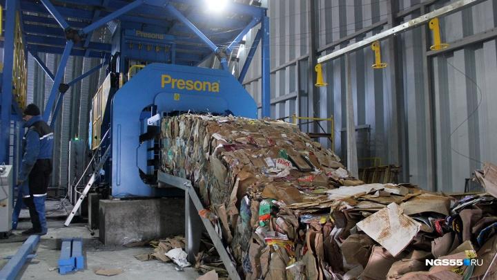 Жильцам омских многоквартирных домов на полгода снизили плату за вывоз мусора. Потом она вырастет