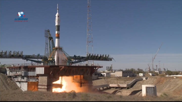 На ракете «Союз» с космонавтами на борту произошла авария