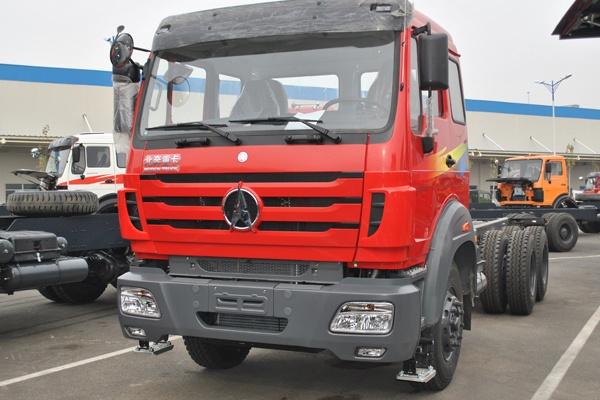 На первом этапе будет построен дилерский центр для продажи и обслуживания грузовиков и спецтехники под брендами Beiben и North Benz. Строительство завода —только третий этап проекта