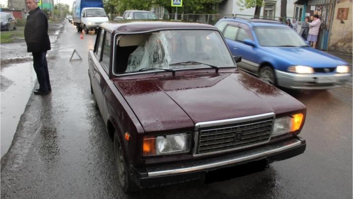 На улице Омской в Кургане дважды за день сбили пешеходов