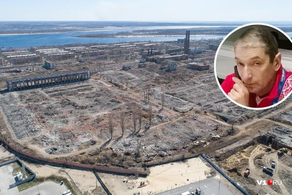 Михаил Вержба видел молодой свою бабушку на фото первых строителей умершего завода