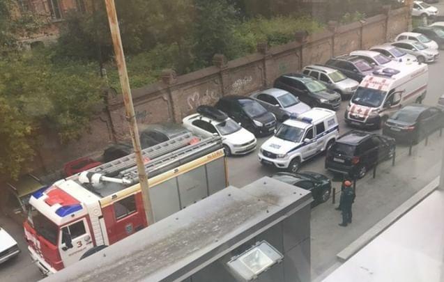 В Екатеринбурге эвакуировали бизнес-центр «Небо»