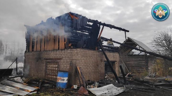 В Башкирии во время пожара погибла восьмилетняя девочка