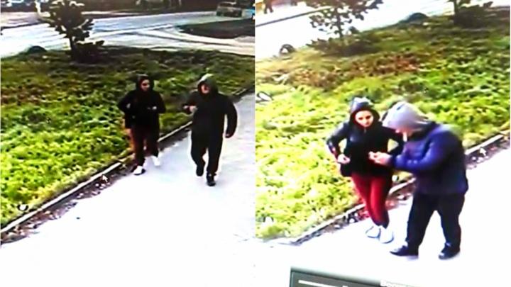 Полиция просит новосибирцев о помощи в поиске грабителя