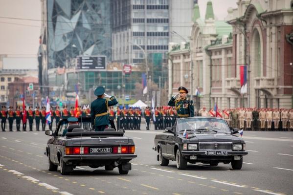 Сегодня, 7 мая, на Красном проспекте пройдёт репетиция парада Победы