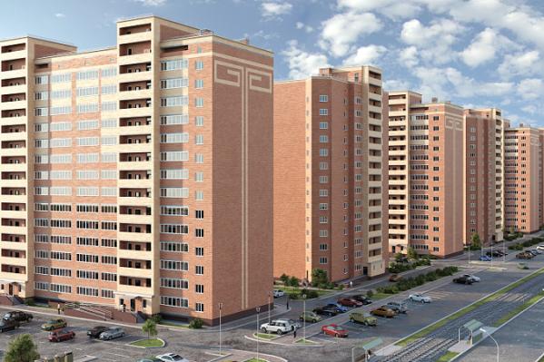 Кирпичный жилой комплекс «Любимый» находится в тихом месте, вдали от шумных магистралей