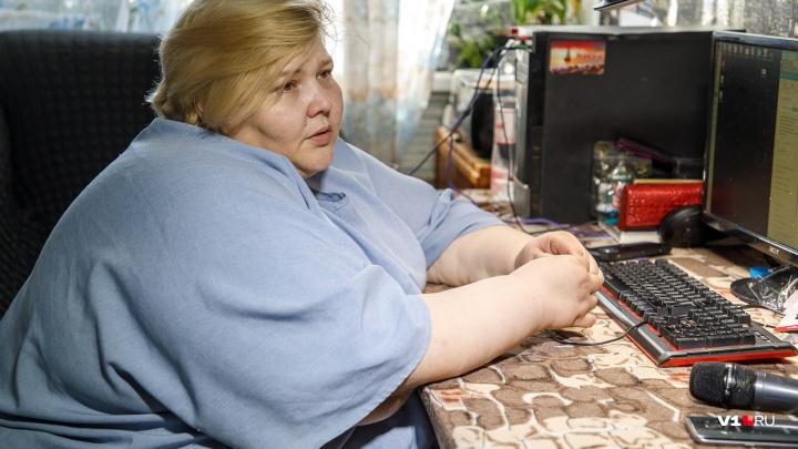 «Чтобы выжить, нужно сбросить 200 килограммов»: история самой толстой женщины России из Волгограда