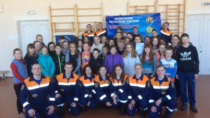 Студотряд «Помор-Спас» начнет уроки безопасности в школах Поморья в мае