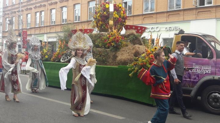 Ярмарка на набережной и карнавал: стала известна программа фестиваля цветов в Самаре