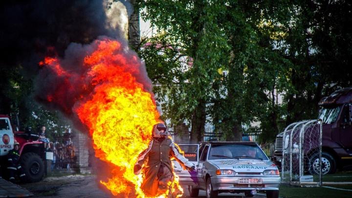 В Ярославле будут поджигать людей на улице