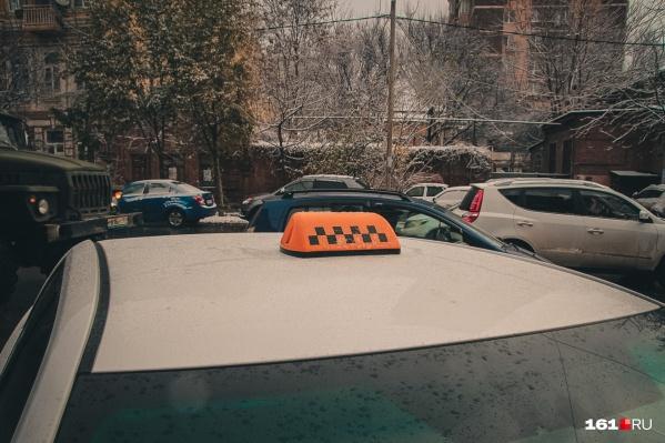 Таксист уехал с места происшествия