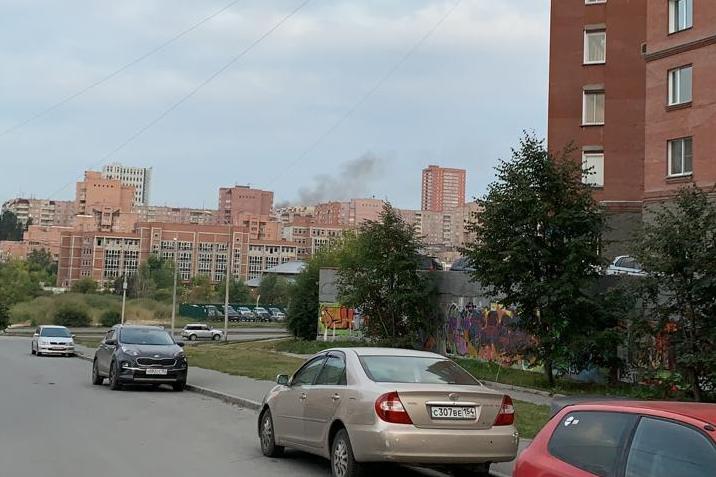 Такую картину видят жители Октябрьского района