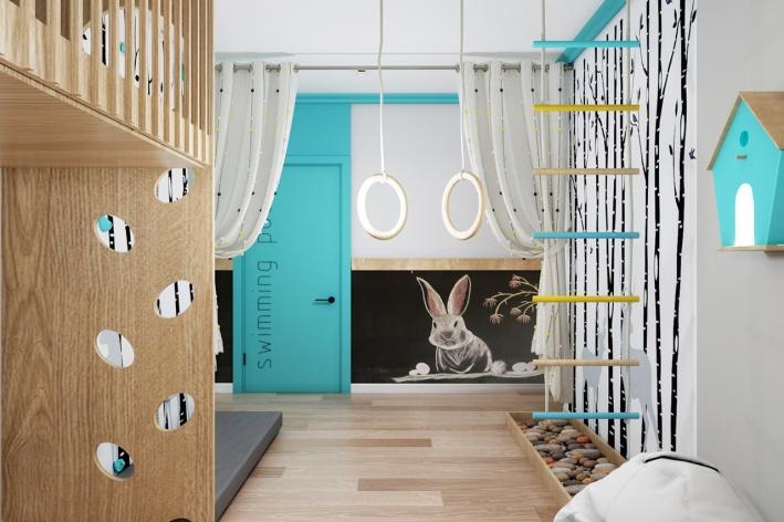Уютное и креативное пространство развивающего центра скоро откроет свои двери для юных жителей «Вишневой горки»