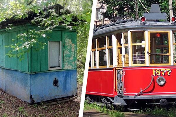 Слева— найденный в Новосибирске вагон, справа—вагон Путиловского завода