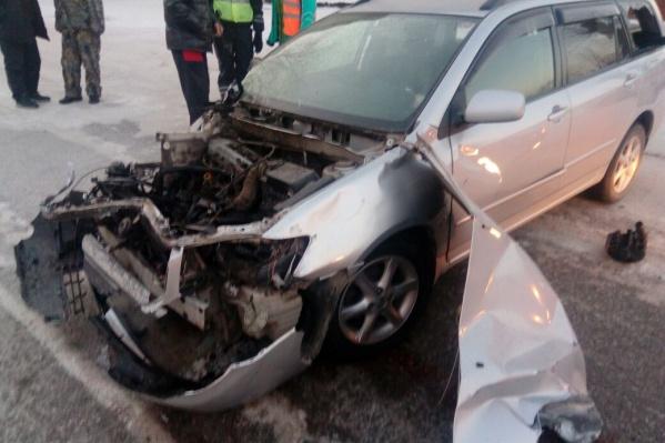 Авария случилась около 9 часов утра