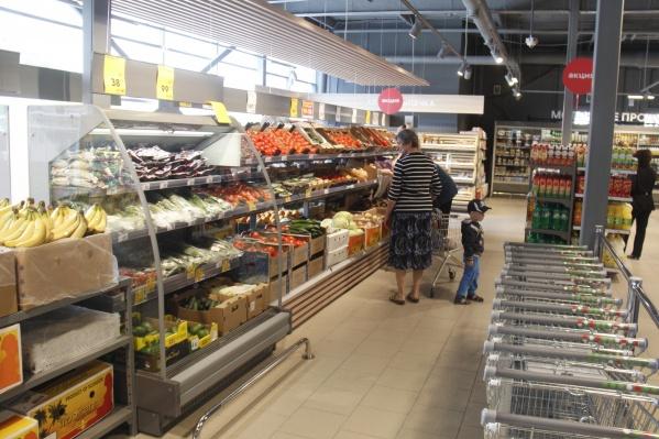 Количество супермаркетов продолжает расти, чего не скажешь об обороте розничной торговли в целом
