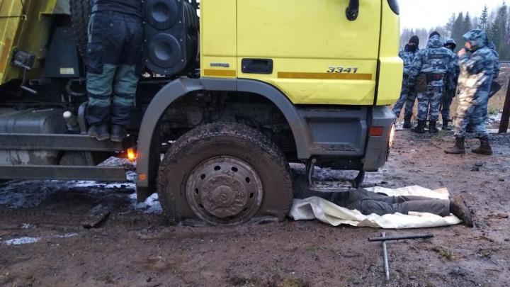 Активисты опубликовали видео прорыва бензовоза с топливом на Шиес