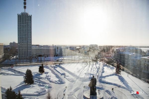 За год рейтинг Архангельска по эффективности управления упал на 10 пунктов