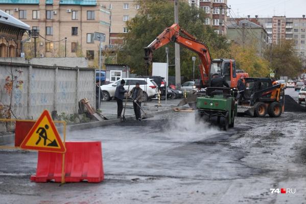 17 октября в Челябинске должно быть сухо, поэтому дорожники поработают на славу