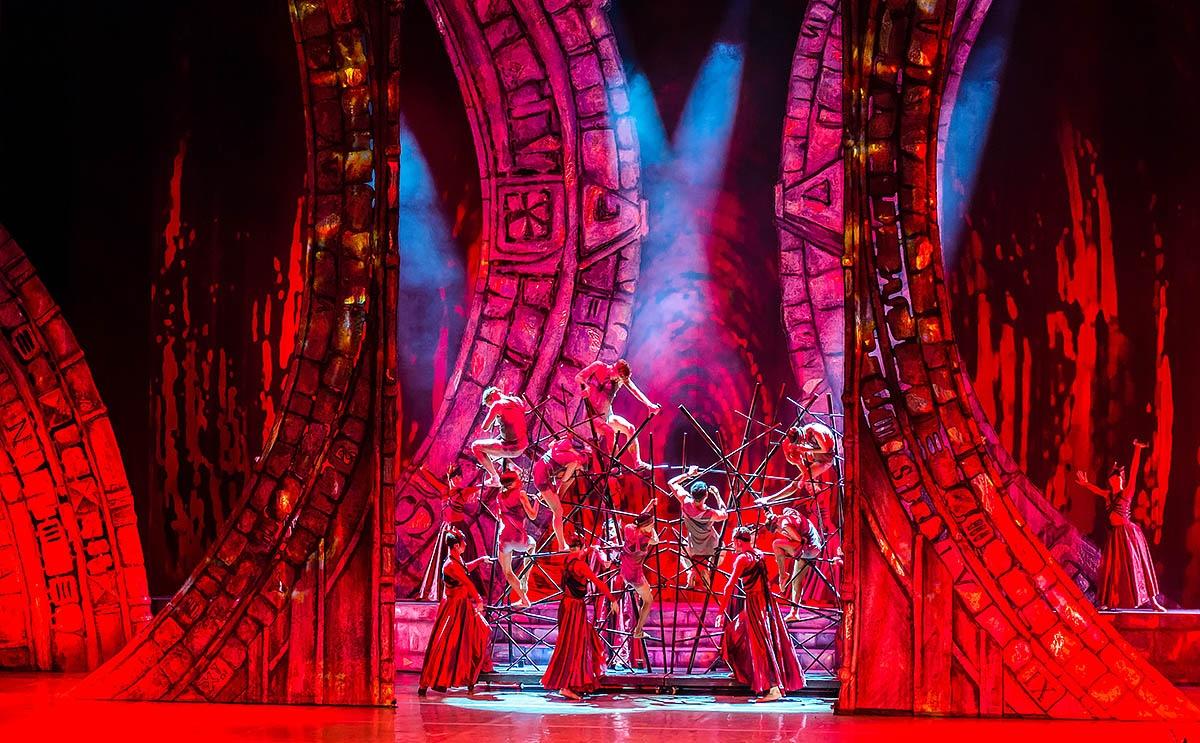 Мировая премьера балета-кантаты состоялась в ноябре 2017 года во Франции