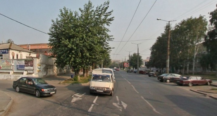 Движение по улице Посадской закрыли на выходные