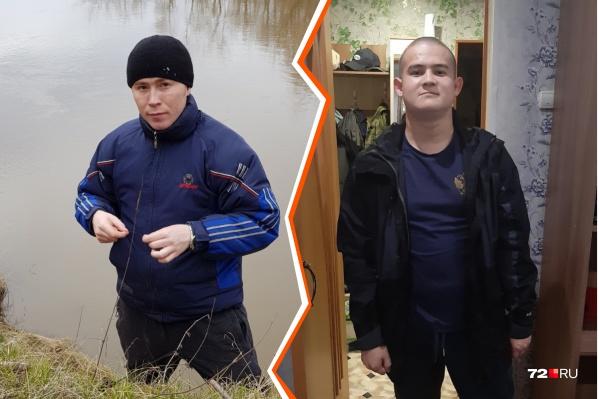 Убитый старший лейтенант Данил Пьянков, стрелок Рамиль Шамсутдинов