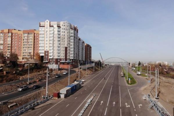 Развязку по улице Волочаевской предлагают назвать Николаевским проспектом