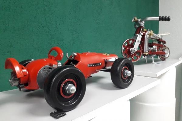 Возможно, что эти модели навсегда переедут в липецкий музей «Автолегенда»