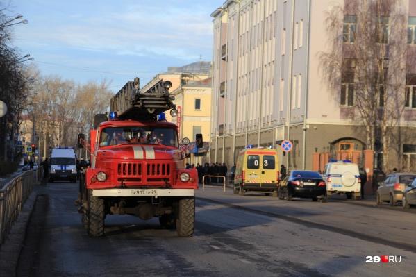 Взрыв в управлении ФСБ Архангельской области прогремел утром 31 октября2018 года