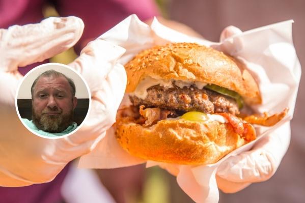 Ничего страшного в хорошем бургере знаменитый шеф не видит