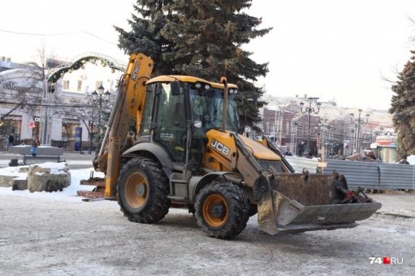 Первые павильоны на Кировке начали сносить на прошлой неделе