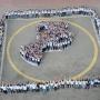 Самарские студенты устроили флешмоб в честь финала Кубка России по футболу