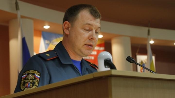 Кадровая перестановка: донским спасателям представили нового руководителя