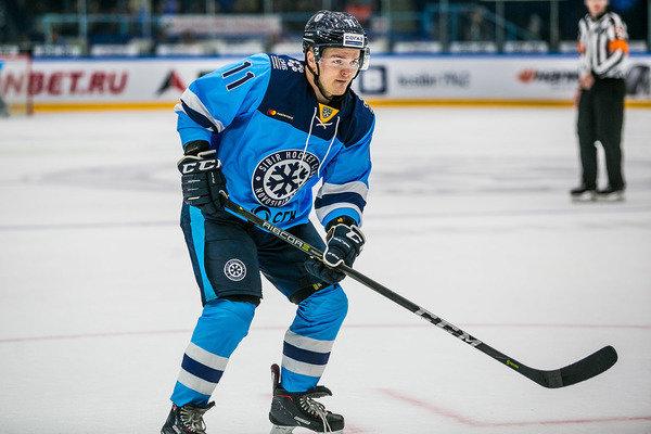Юлиус провёл в составе «Сибири» 5 матчей КХЛ, но не забил ни одной шайбы