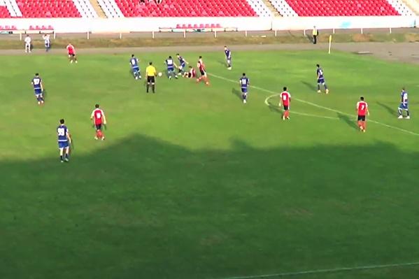 Матч в Чите прошёл на выходных