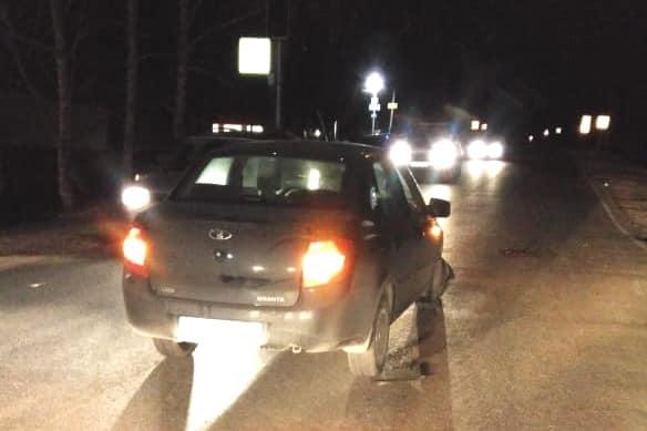 Под Уфой водитель «Лады-Гранты» сбил восьмиклассницу: момент ДТП попал на видео