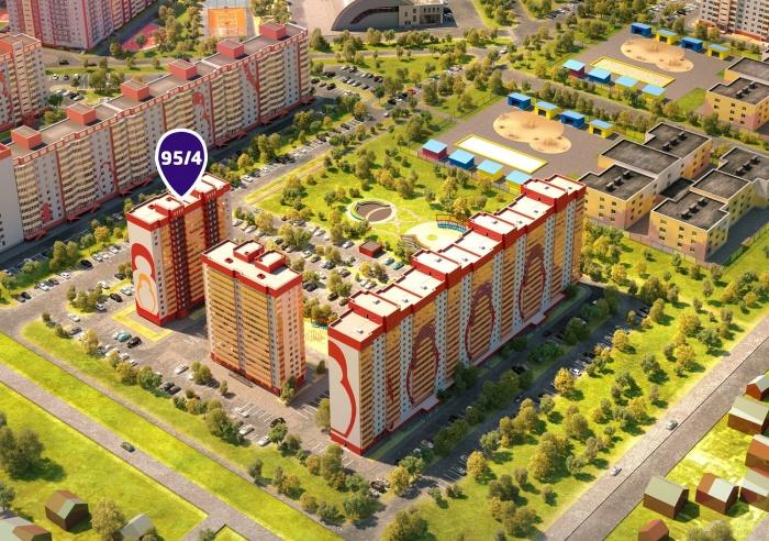 В ЖК «Матрёшкин двор» появились квартиры за 912 800 рублей в «кирпиче»