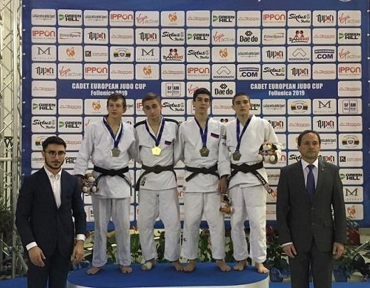 Южноуральские дзюдоисты привезли две медали с Кубка Европы