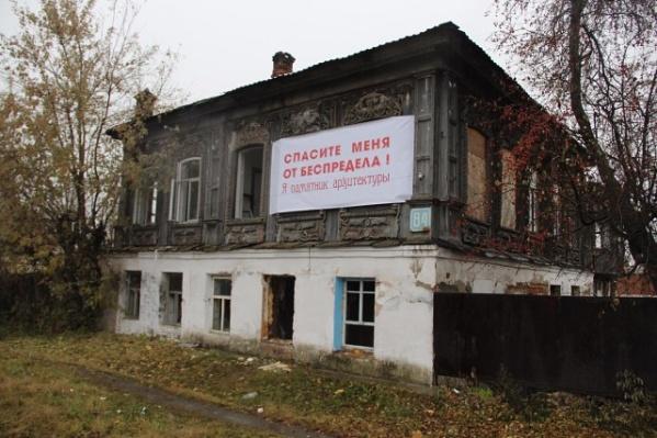 Один из памятников в Шадринске в прошлом году буквально «кричал» о помощи