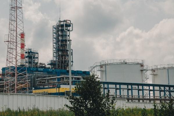 Предприятие — генеральный подрядчик Антипинского нефтеперерабатывающего завода