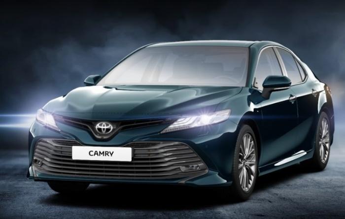 Toyota объявила продажи новой «Камри» в России