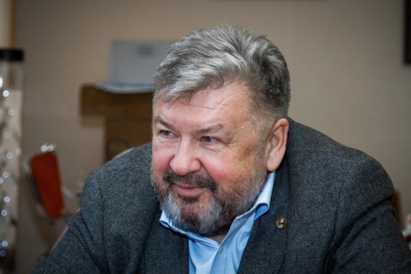 Для Андрея Важенина это вторая медаль «За заслуги перед Отечеством»
