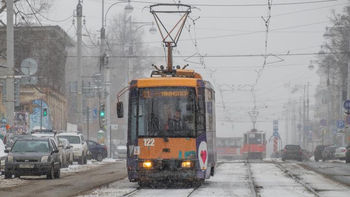 В новогоднюю ночь пермяки смогут бесплатно ездить на автобусах и трамваях