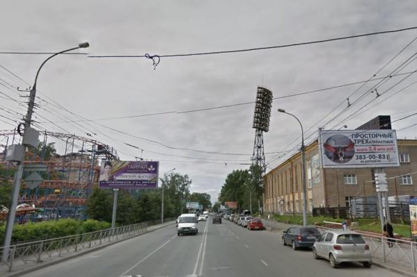 Улицу Фрунзе перекроют рядом со стадионом «Спартак» и Центральным парком