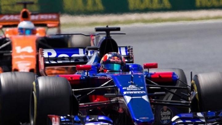 Уфимец  Даниил Квят сошел с дистанции на Гран-при Монако