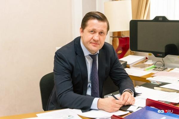 Михаил Ратманов стал министром здравоохранения Самарской области в октябре 2018 года