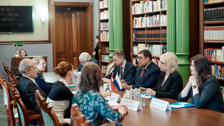 В ТюмГУ открылся «Венгерский кабинет»